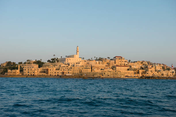 Old city of Jaffa in Israel stock photo