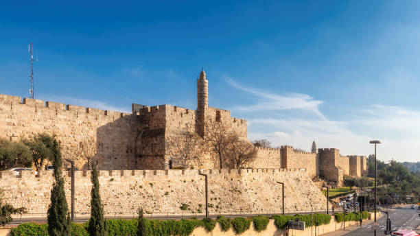 Old city of Jerusalem, Israel stock photo