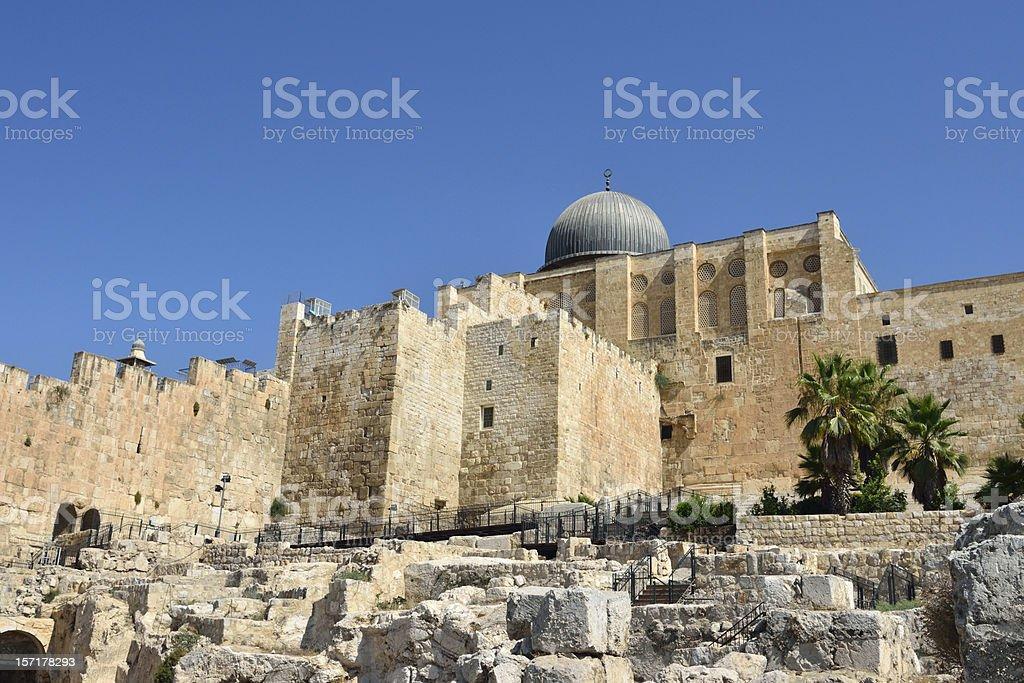 Old city of Jerusalem, Israel. royalty-free stock photo