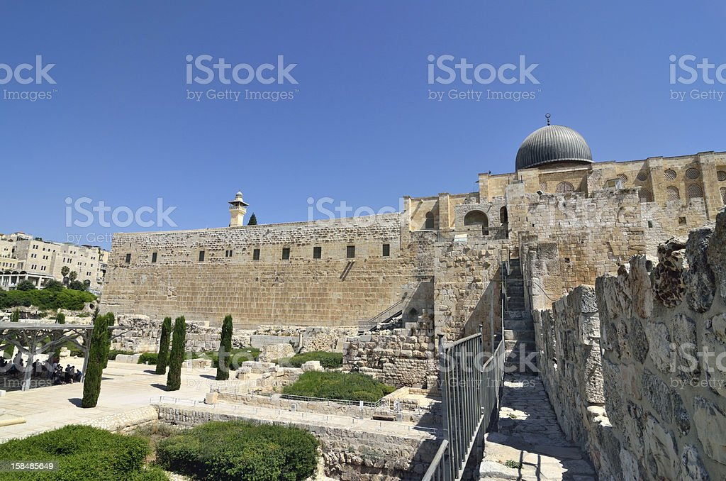 Old city of Jerusalem, Israel. royalty-free stock photo
