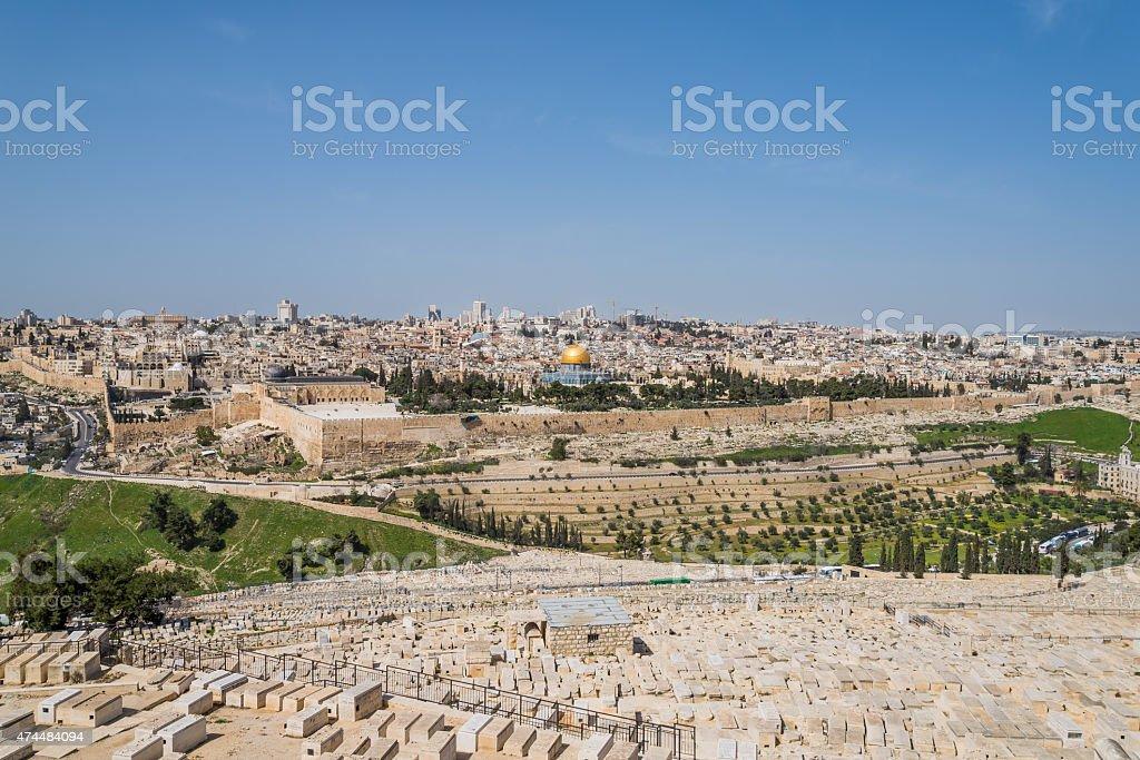 Old City of Jerusalem, Israel stock photo