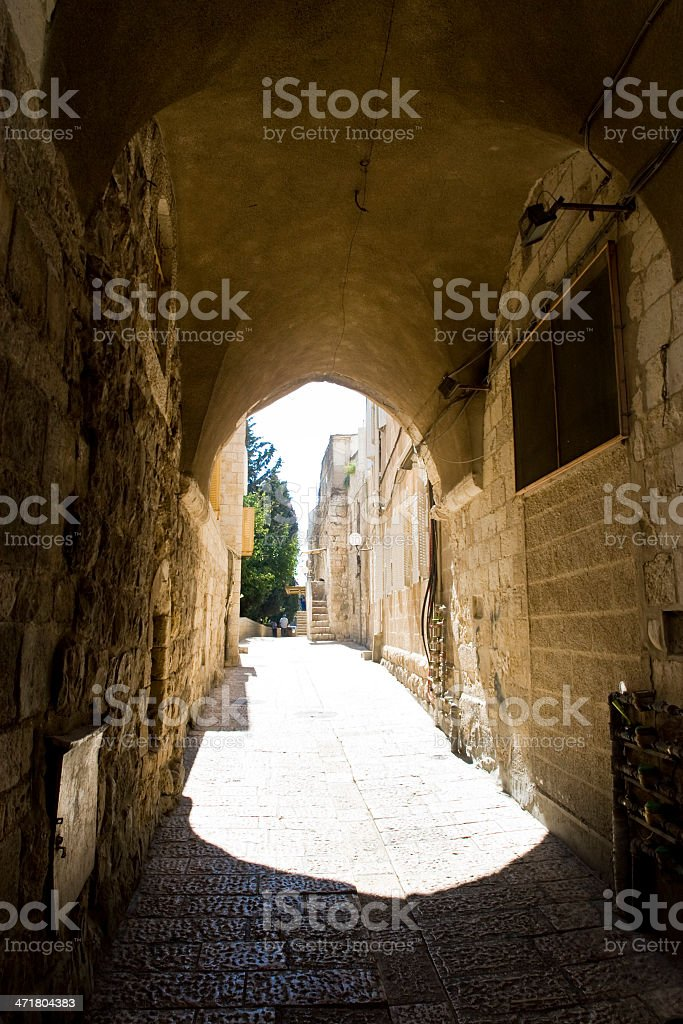 Old city of Jerusalem royalty-free stock photo