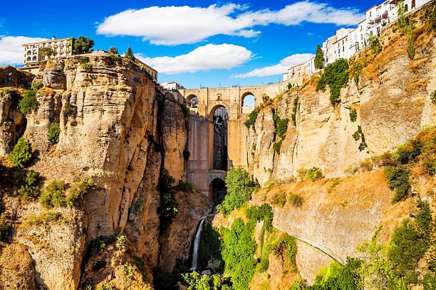La ciudad antigua de la Ronda, de Málaga, España - foto de stock