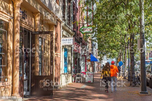 Old City Philadelphia Stock Photo - Download Image Now