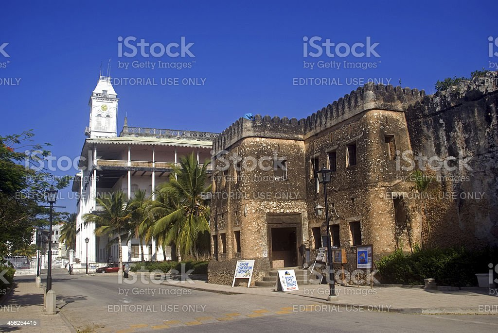 Old City Stone Town Zanzibar Tanzania Stock Photo Download