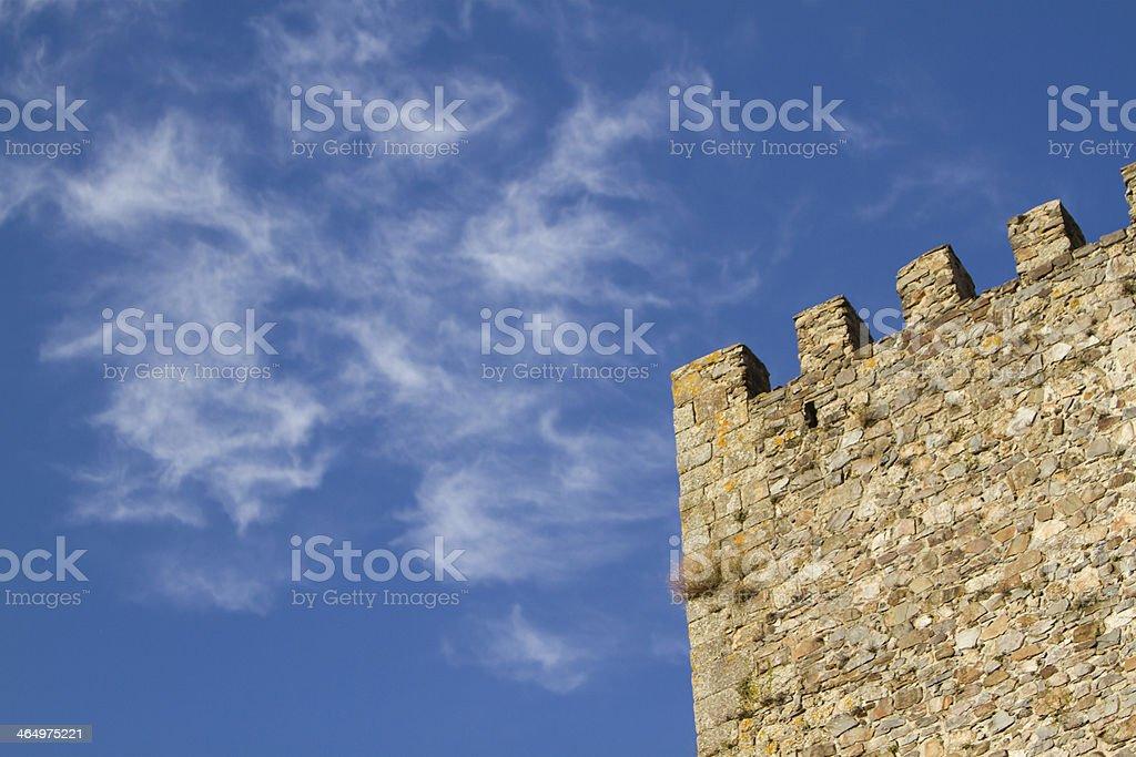 Old City Wall royalty-free stock photo