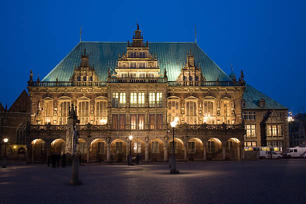 old cityhall de Bremen - foto de stock