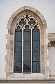 Old classic church Window.
