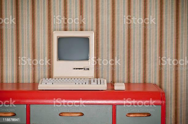Old classic computer on retro desk picture id115578541?b=1&k=6&m=115578541&s=612x612&h=fet4egskss wazsdbsxicljvasmowoaoj7jds16vaqu=