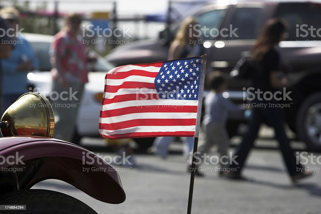Old Classic Glory royalty-free stock photo