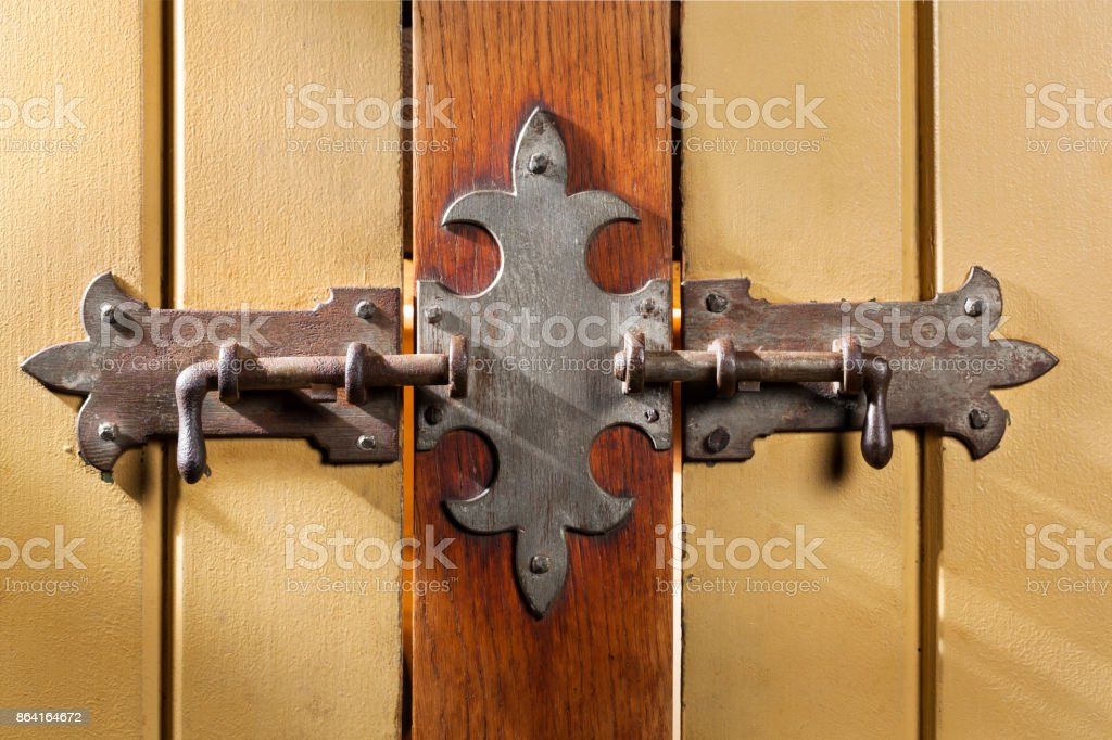 Old classic vintage lock royalty-free stock photo