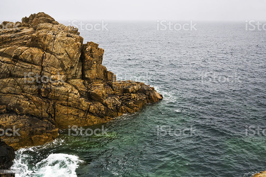 old cliff on English Channel coast royalty-free stock photo
