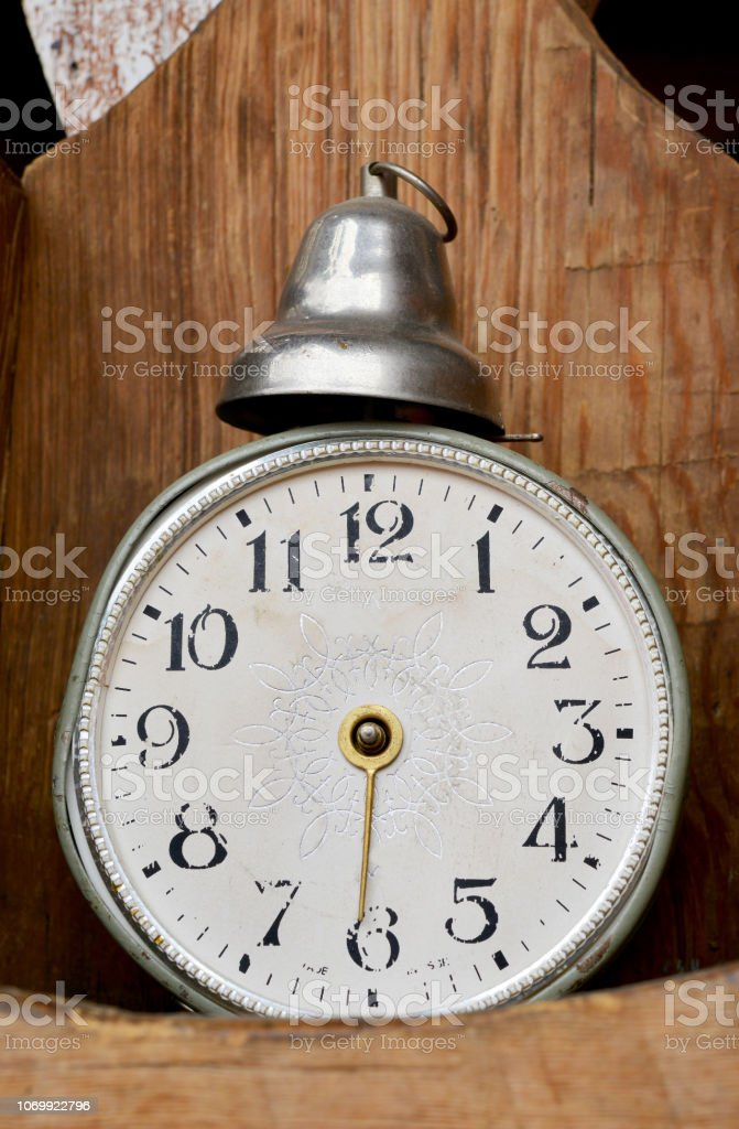 old clock and time
