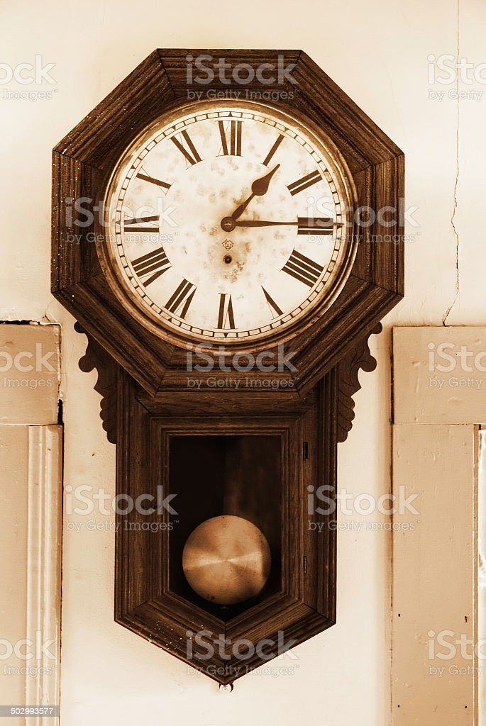 Old Clock stock photo