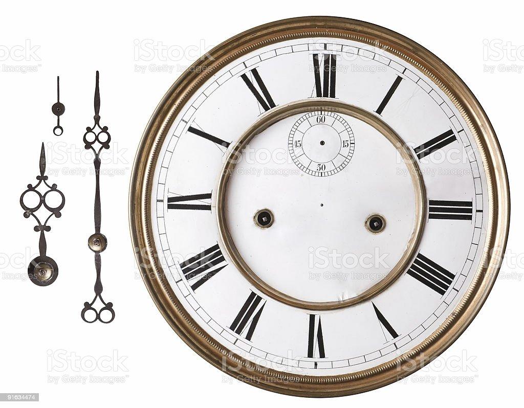 Old clock. stock photo