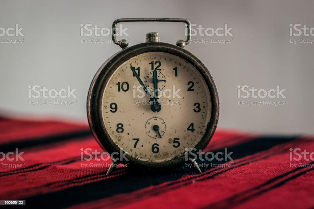 Alte Uhr - Lizenzfrei Alarm Stock-Foto