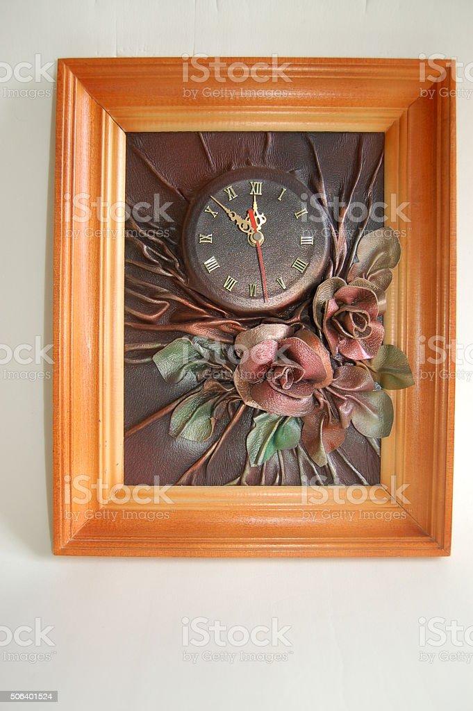 Wall clock. 1990 Year.
