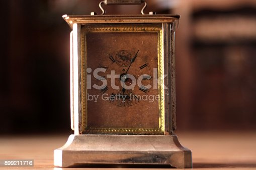 671883446istockphoto Old clock with gear mechanism 899211716