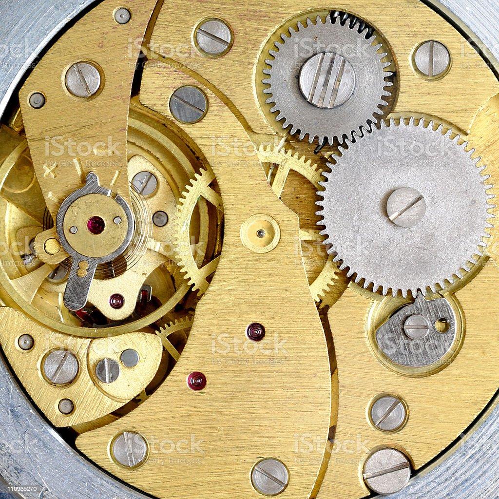 Old clockwork royalty-free stock photo