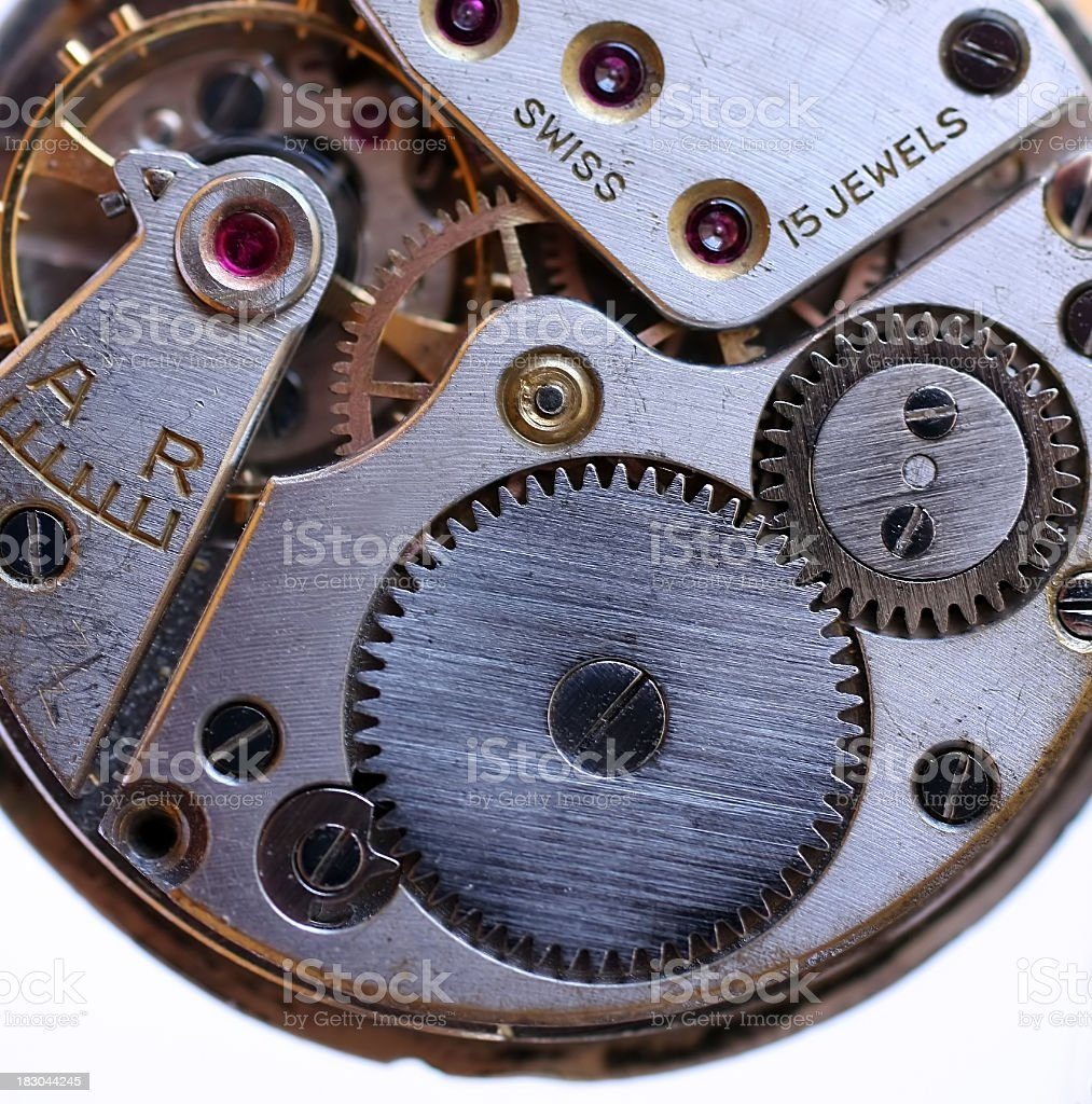 old clockwork royalty-free stock photo