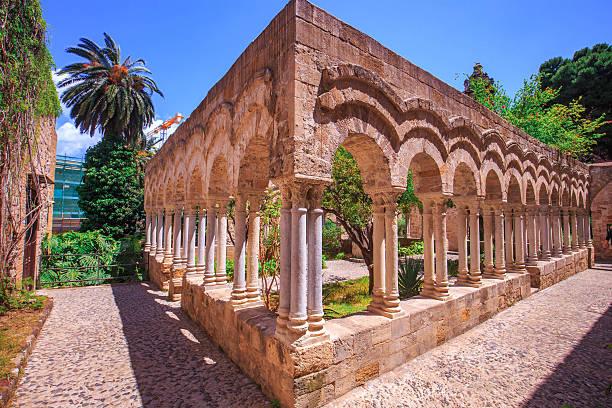 Alten Kloster von St. john in Palermo, Sizilien – Foto