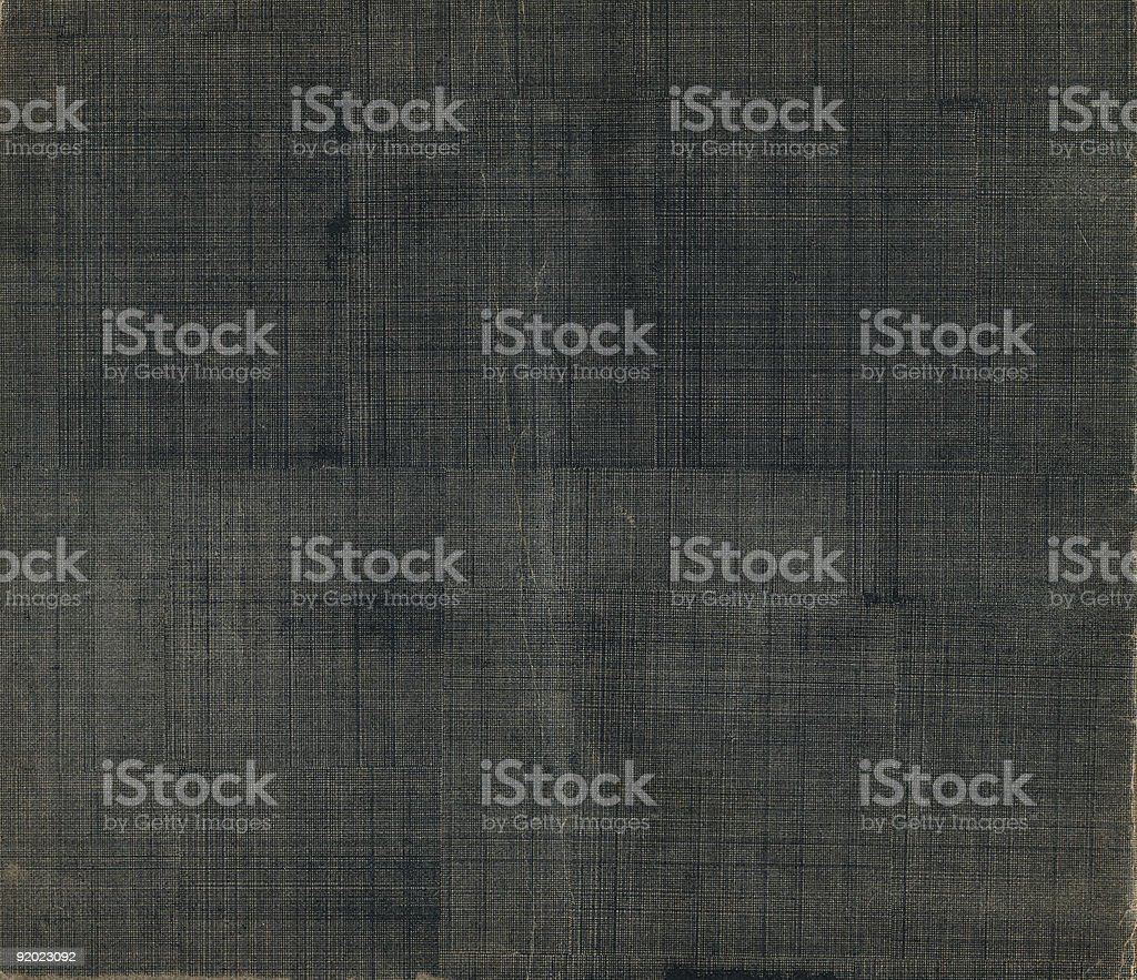 Old Cloth Book Cover stock photo