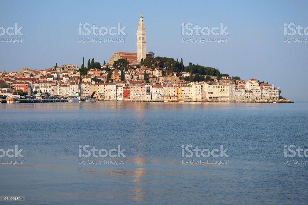 Old coastal town Rovinj, Istria, Croatia - Royalty-free Adriatic Sea Stock Photo