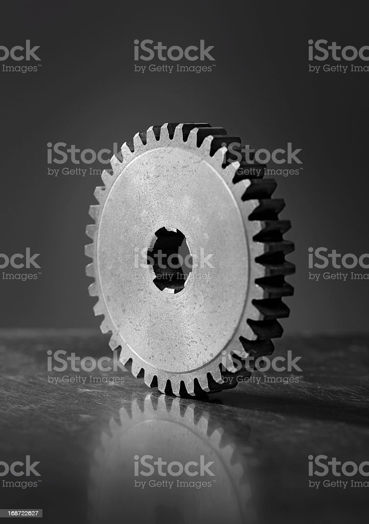 Old Cog Gear royalty-free stock photo