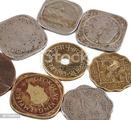 istock Old Coin 857938644