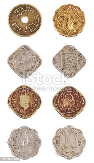istock Old Coin 857944186