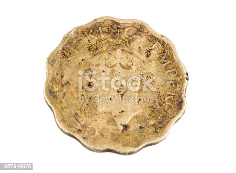 istock Old Coin 857946676