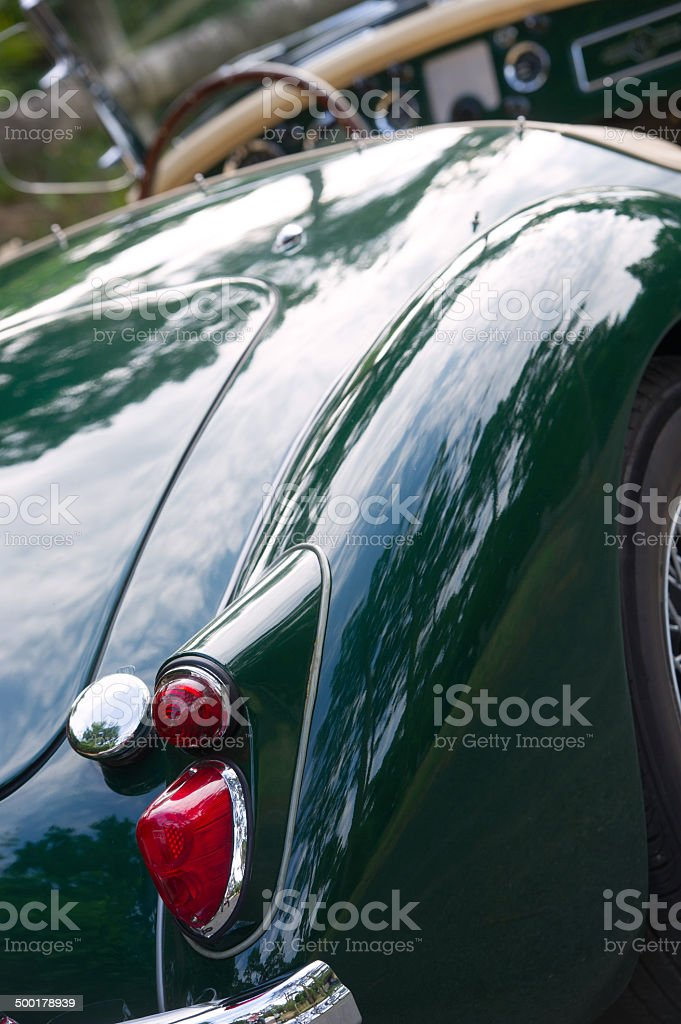 Old Collector Car royalty-free stock photo