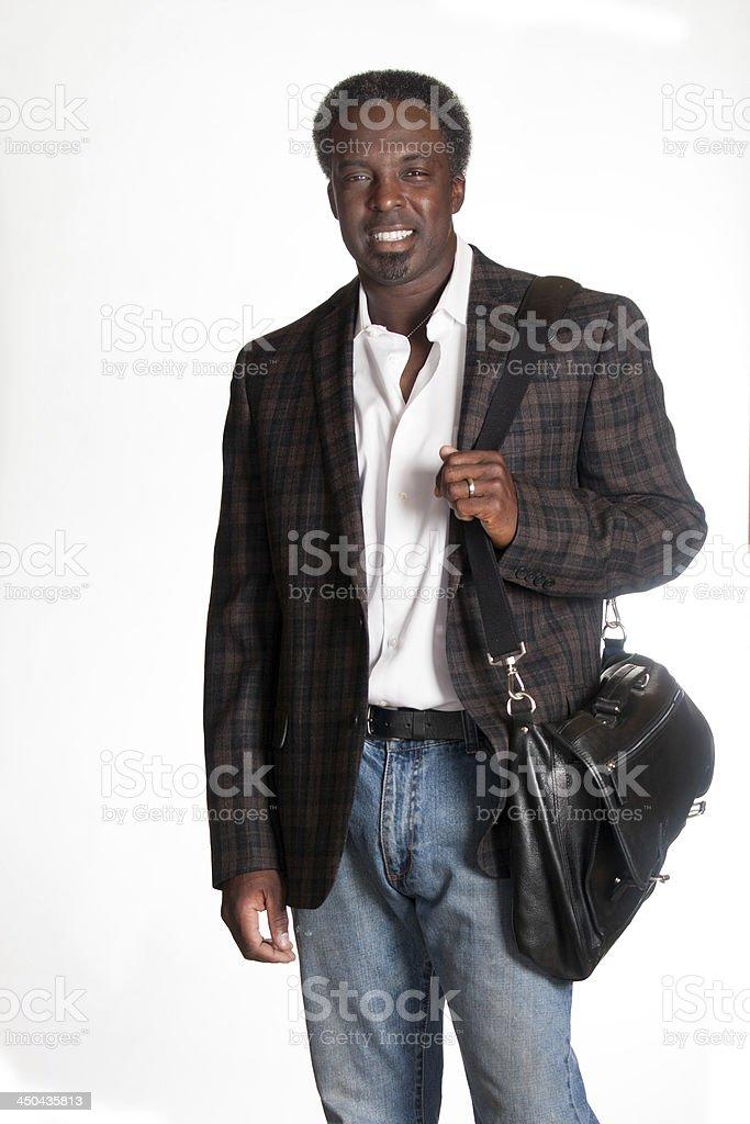 Old college student - foto de stock