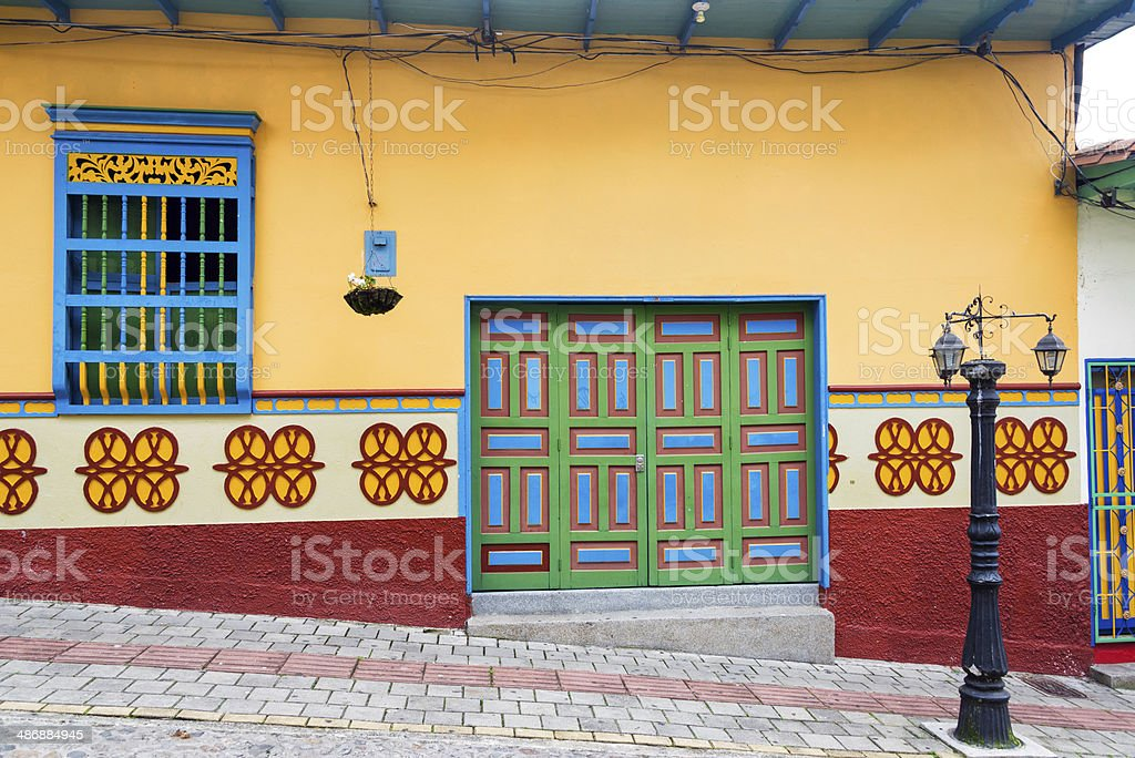 Old Colorful House royalty-free stock photo