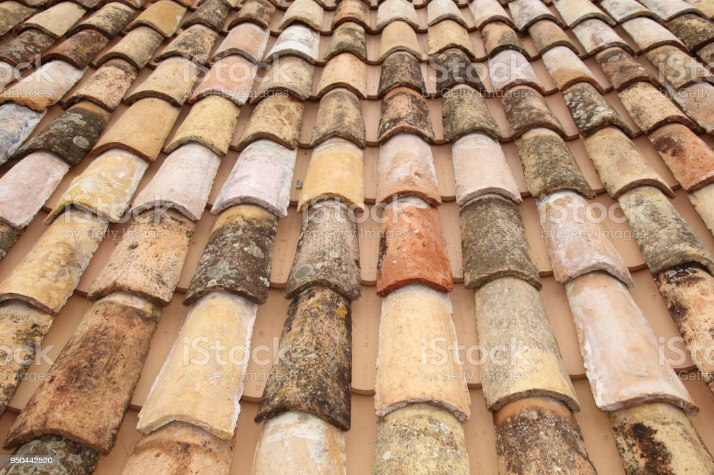 Old Coloured Tiles Stock Photo - Download Image Now - iStock