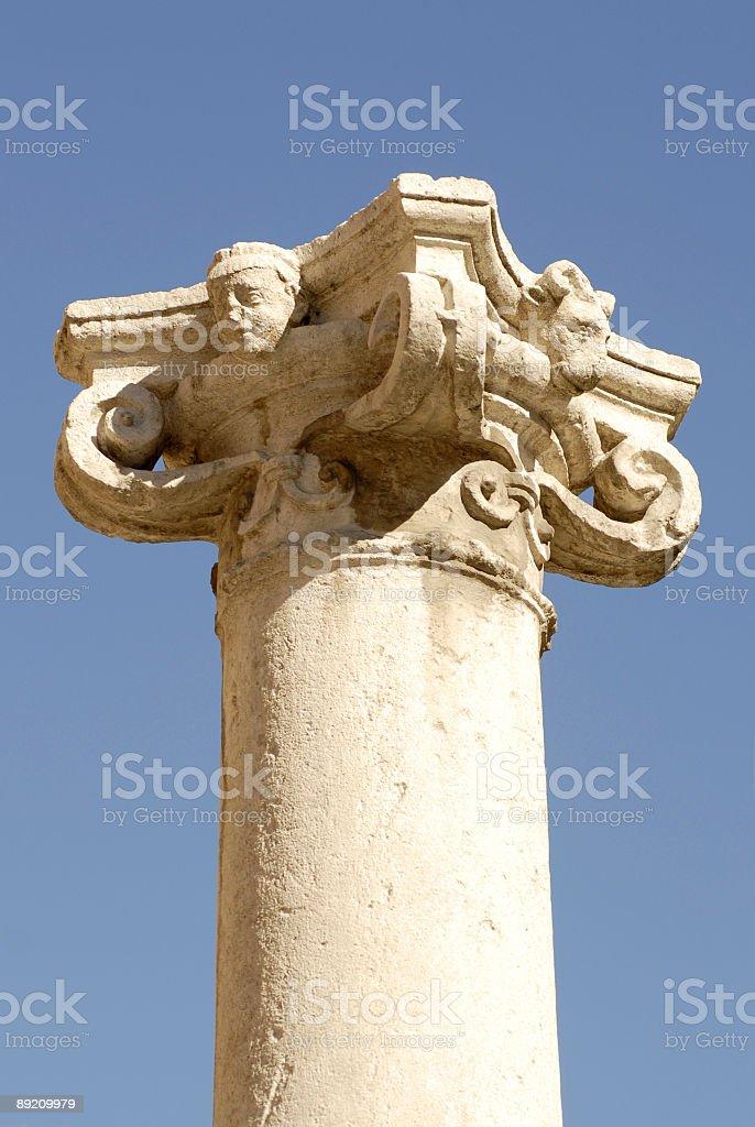 Old column royalty-free stock photo