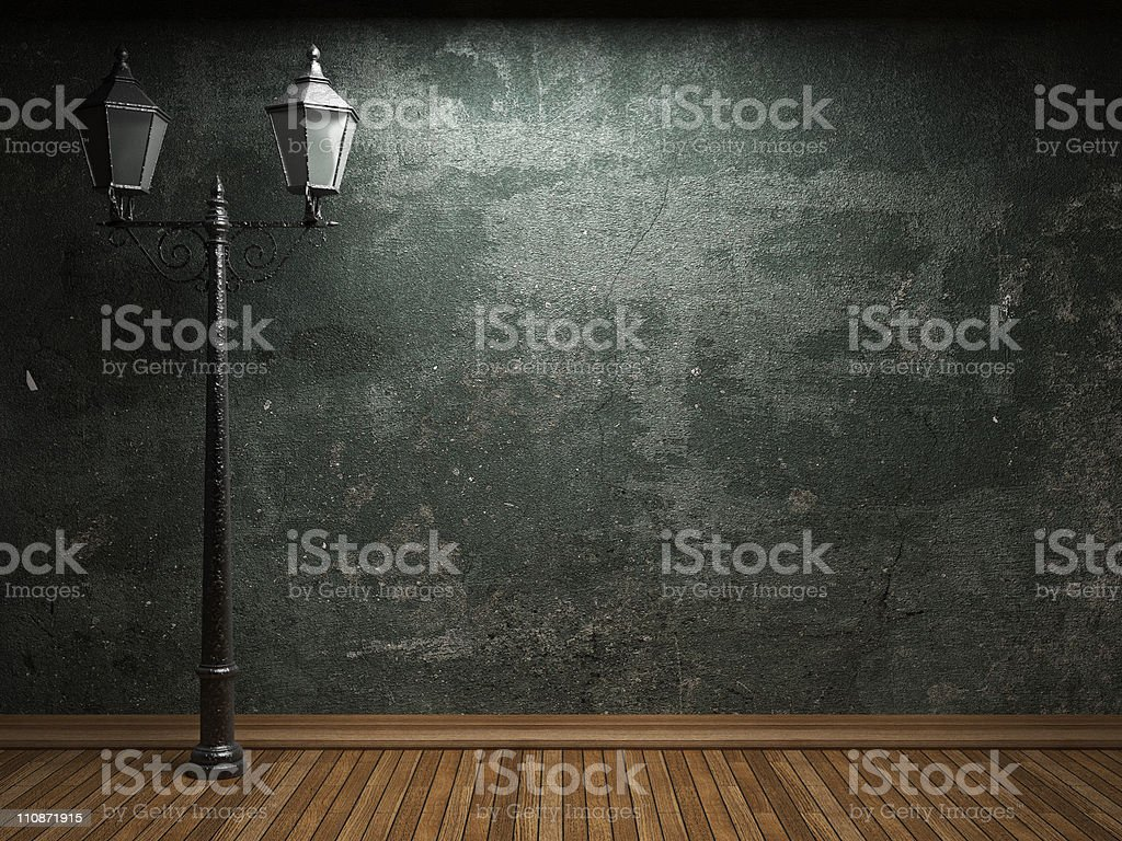 old concrete wall royalty-free stock photo