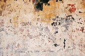 Old concrete with scratch colour stain and cracks abstract background wallpaper backdrop for design work