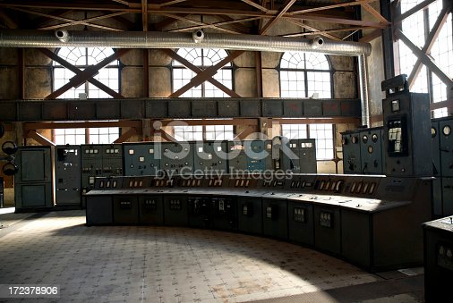 old energy station