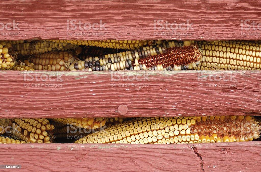 Old Corn Crib royalty-free stock photo