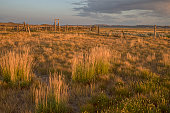 istock Old Corral at Grasslands Frenchman River Valley 1009486412