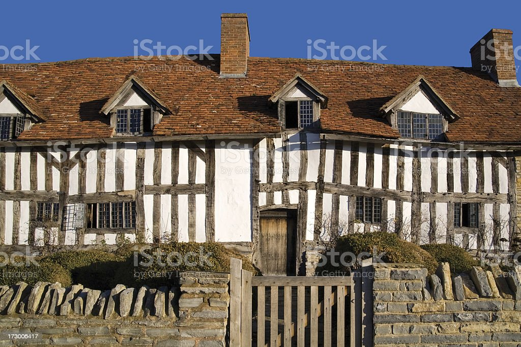 old cottage royalty-free stock photo