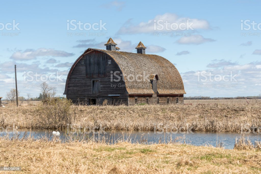 old country barn royalty-free stock photo