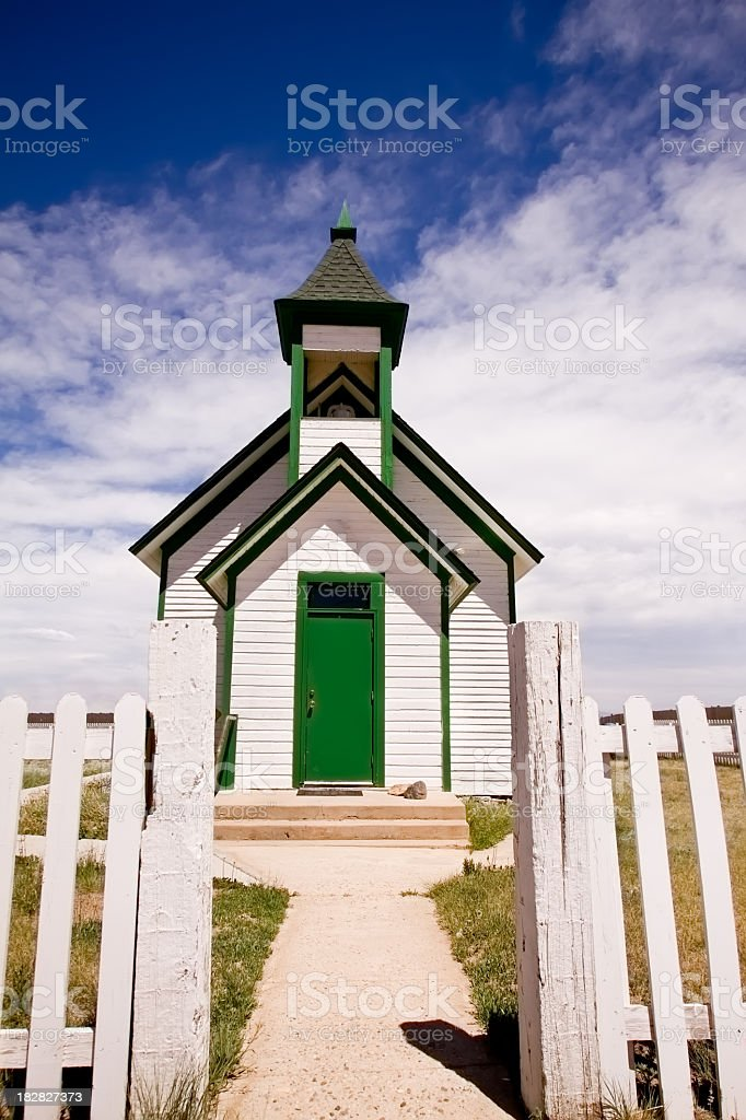 Old Country Church royalty-free stock photo