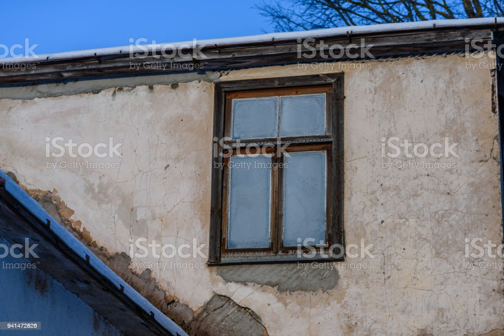 Old Countryside House Details Wood And Stone Architecture