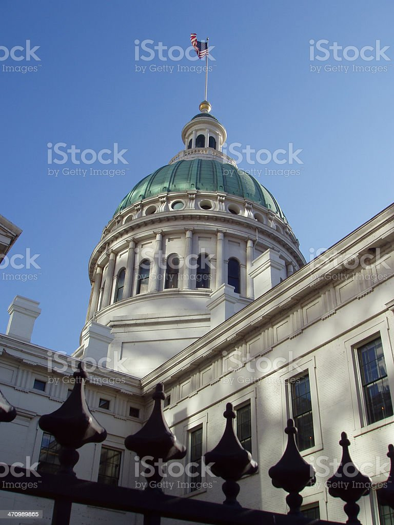 Old Courthouse - Jefferson Memorial royalty-free stock photo