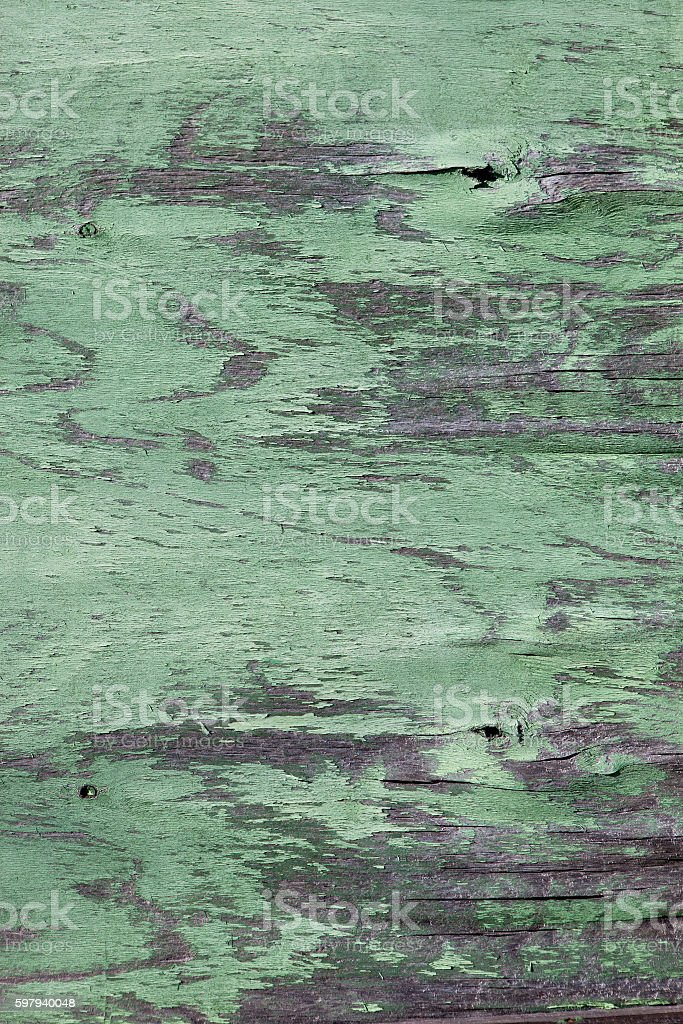 old cracked paint on a wooden surface foto royalty-free