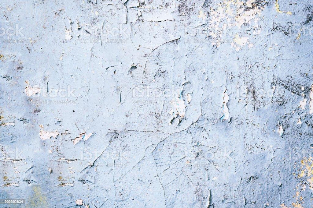 늙음 균열 페인트 벽에 - 로열티 프리 0명 스톡 사진