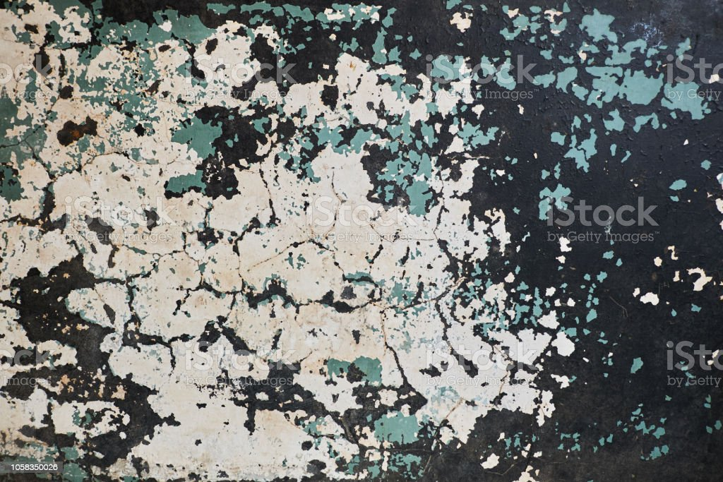 Photo Libre De Droit De Texture De Peinture Fissuré Vieux
