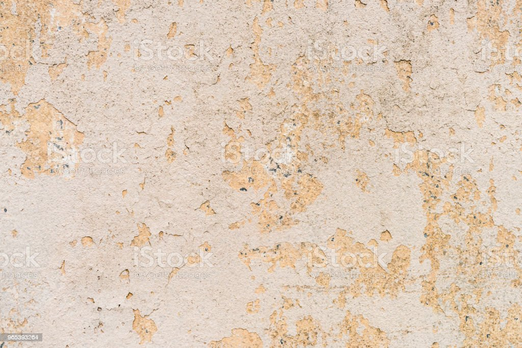 Old cracked plaster on wall background royalty-free stock photo